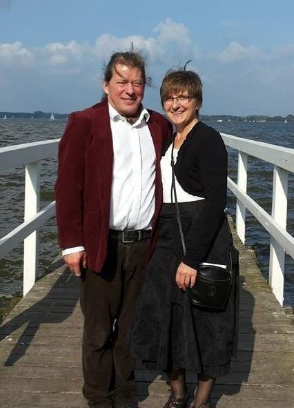 Werner und Gudrun Hoffrichter am 13.9.14 in Bad Zwischenahn