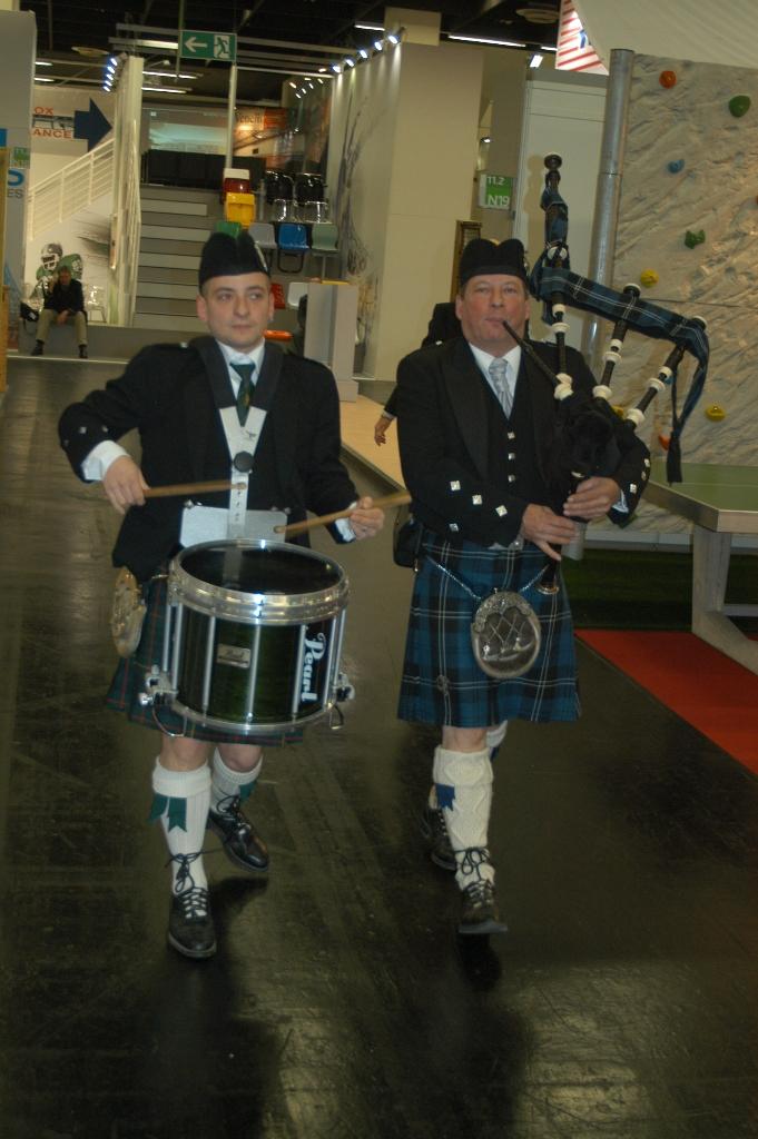 Stephan und Werner Hoffrichter bei einem Auftritt in den Kölner Messehallen