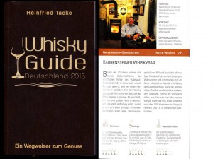 Die Bar im Whisky Guide 2015